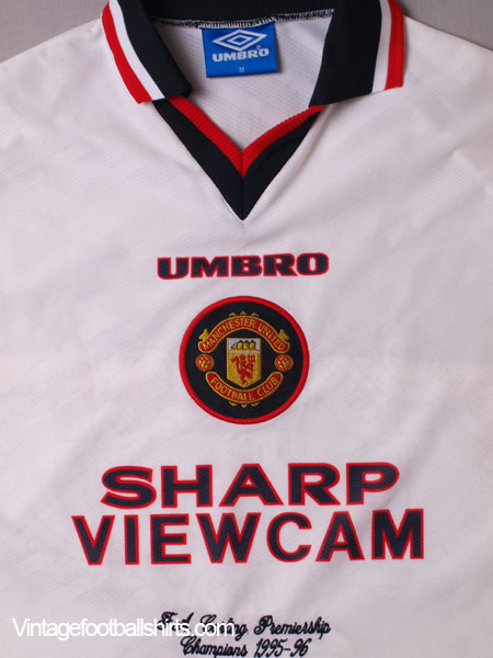 1996 97 manchester united 39 champions 39 away shirt m for sale for Prem league table 99 00