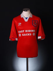1996-97 Doncaster Rovers Home Shirt M