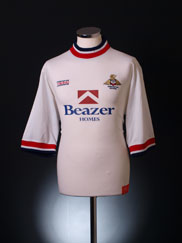 1999-00 Doncaster Rovers Home Shirt L