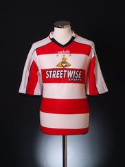 2005-06 Doncaster Rovers Home Shirt M
