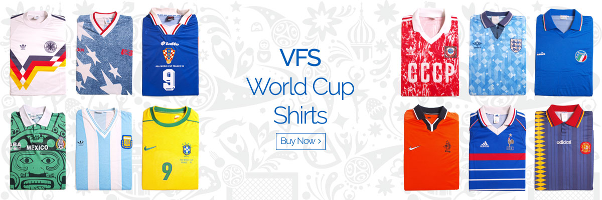 VFS World Cup Shirts - Buy now