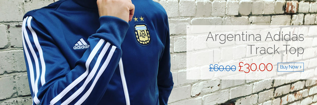 Argentina Adidas Track Top - Was £60.00, Now £30.00 - Buy now