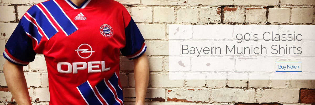 90's Classic Bayern Munich Shirts - Buy now