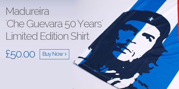 Madureira 'Che Guevara 50 Years' Limited Edition Shirt - £50.00 - Buy now
