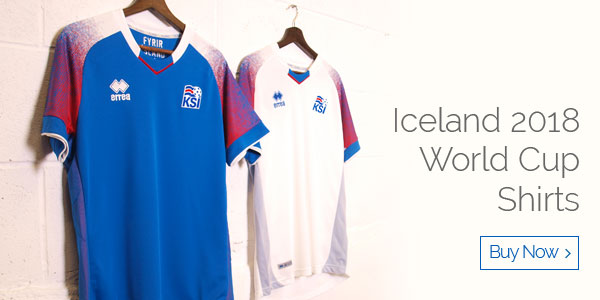 Iceland 2018 World Cup Shirts - Buy now