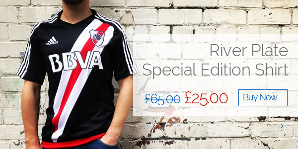 River Plate Special Edition Shirt - Was £65.00 Now £25.00 - Buy now