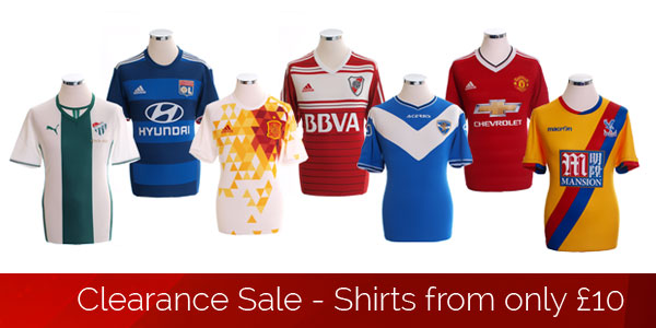 Clearance Sale - Shirts from only £10