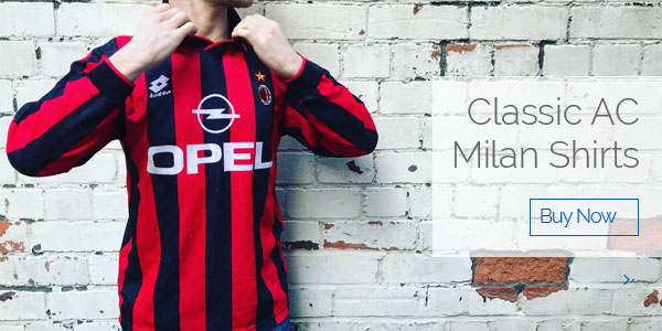 Classic AC Milan Shirts - Buy now