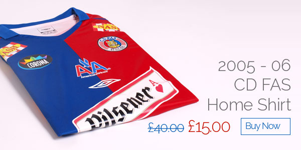 2005-06 CD FAS Home Shirt - Was £40 now £15 - Buy now
