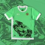 Montserrat 2021-22 home and away kits by BOL