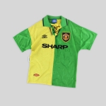 The Shirts of the 1992-93 Manchester United Season
