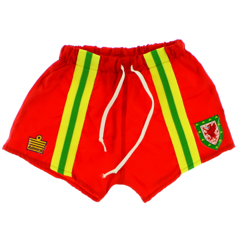 1976-79 Wales Home Shorts *Mint* S.Boys