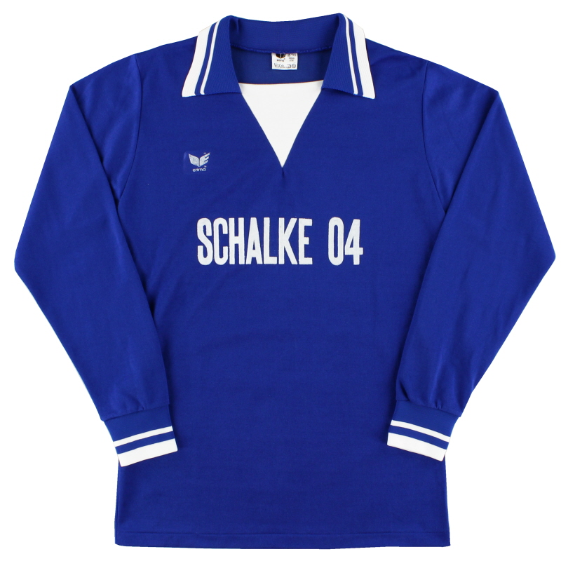 1978-79 Schalke Home Shirt L/S M