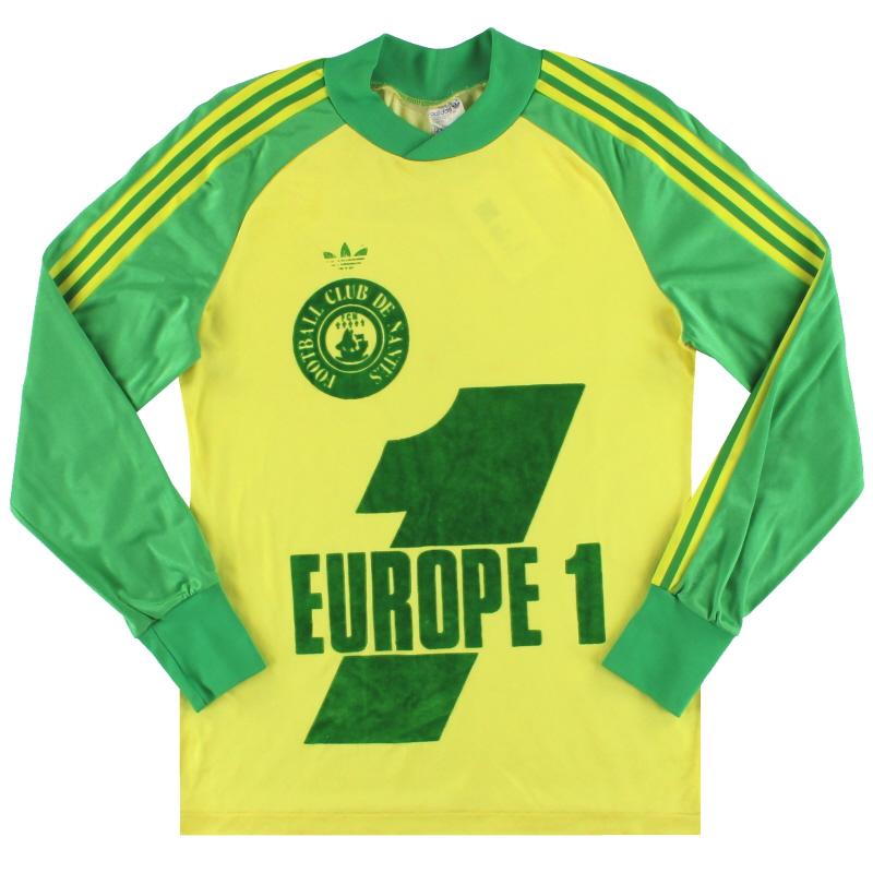 1979-80 Nantes adidas Home Shirt L/S S