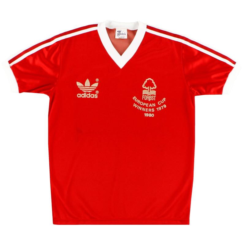 1980-81 Nottingham Forest 'European Cup Winners' Home Shirt *Mint* M