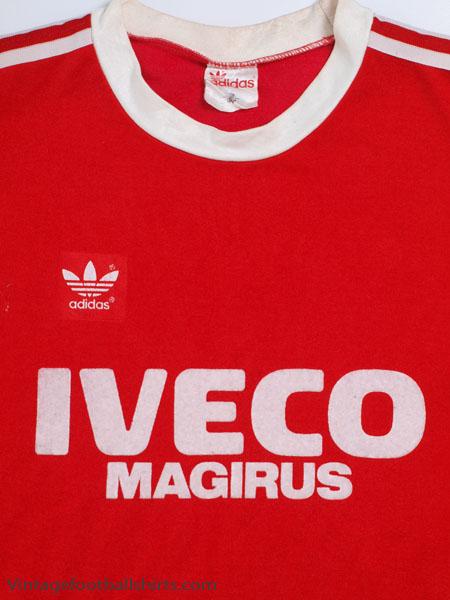 1980 82 Bayern Munich Home Shirt L for sale