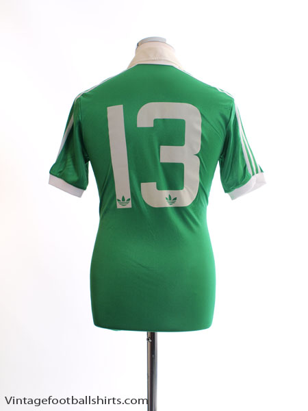 3cf7e48464 1980-82 Northern Ireland Match Issue Home Shirt #13 M for sale
