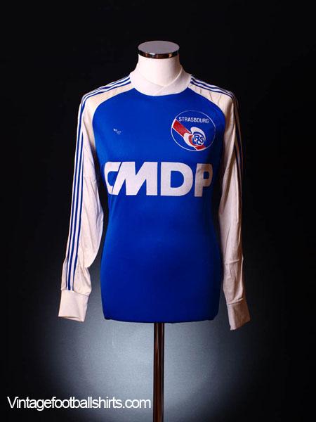 1980-82 Strasbourg Home Shirt L/S M