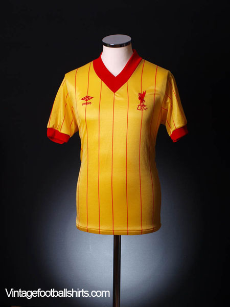 1981-84 Liverpool Away Shirt S
