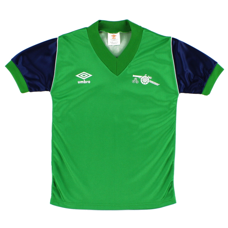 1982-83 Arsenal Away Shirt L.Boys