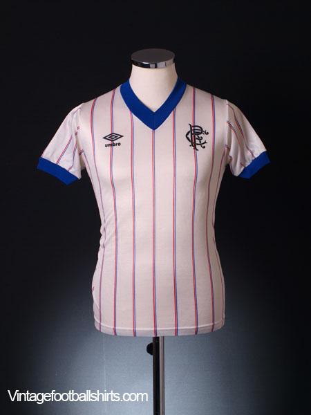 1982-83 Rangers Away Shirt S