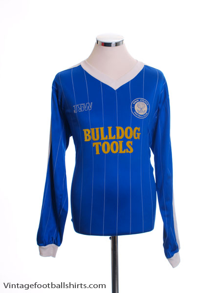 1982-83 Wigan Home Shirt L/S XL