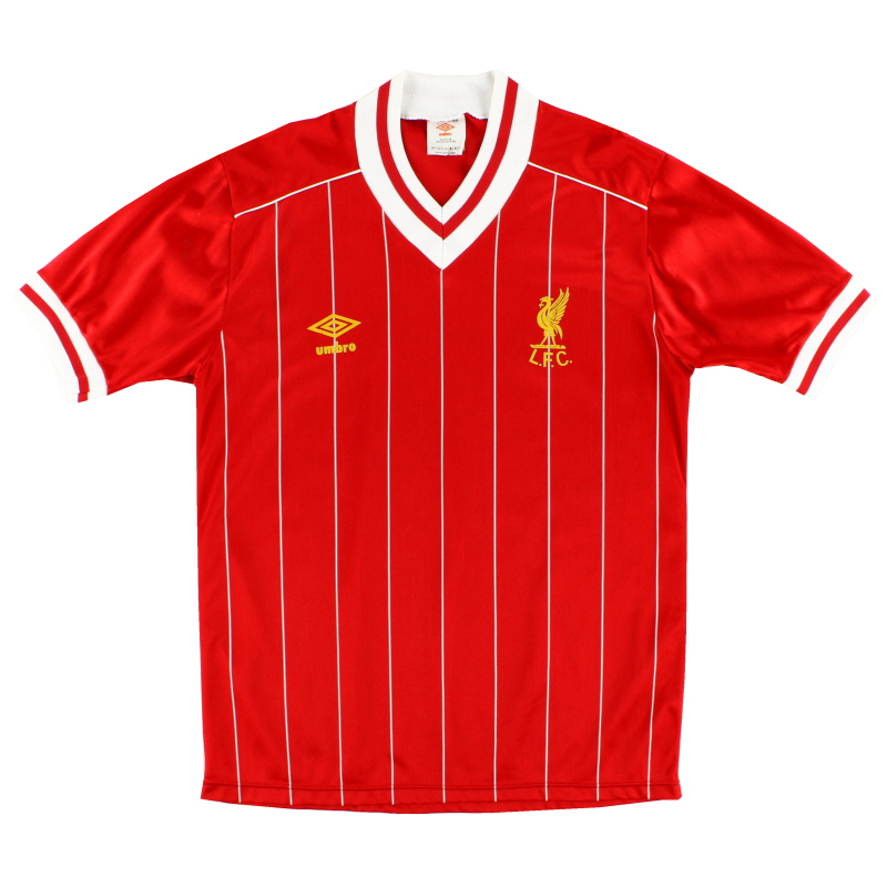 1982-85 Liverpool Home Shirt M