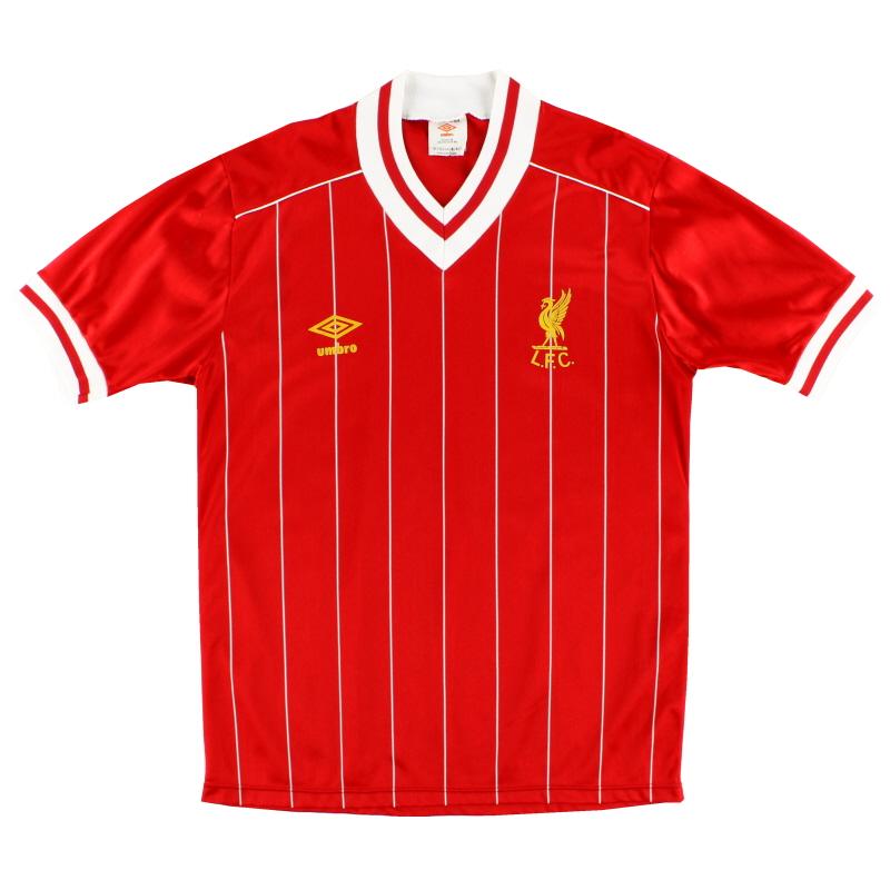 1982-85 Liverpool Umbro Home Shirt *Mint* M