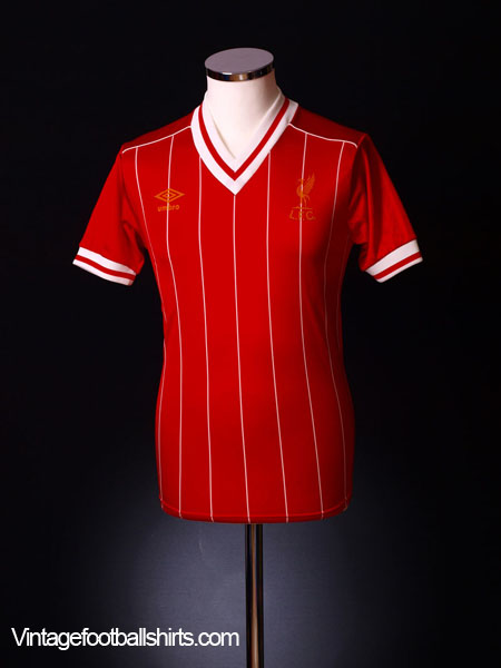 1982-85 Liverpool Home Shirt S