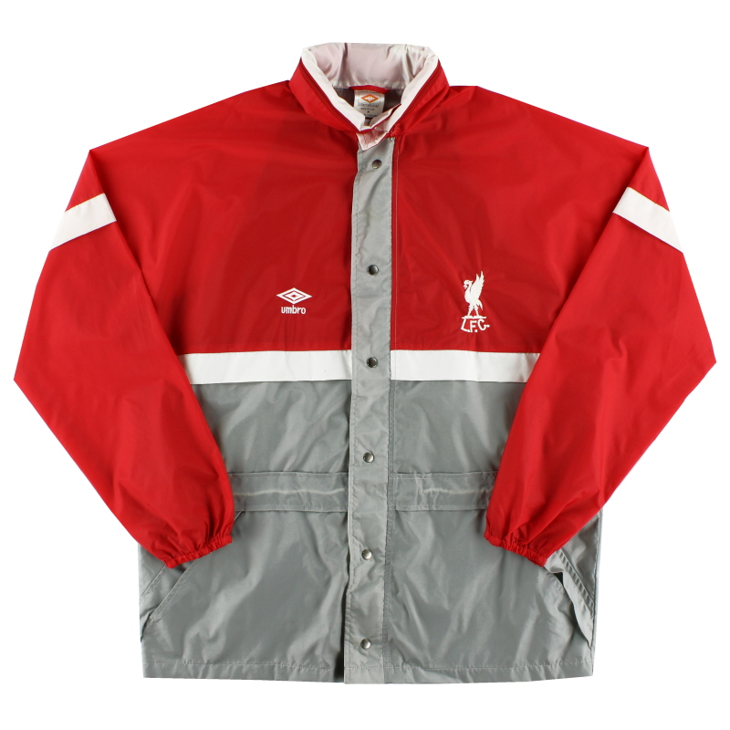 1982-85 Liverpool Umrbo Rain Coat *As New* L
