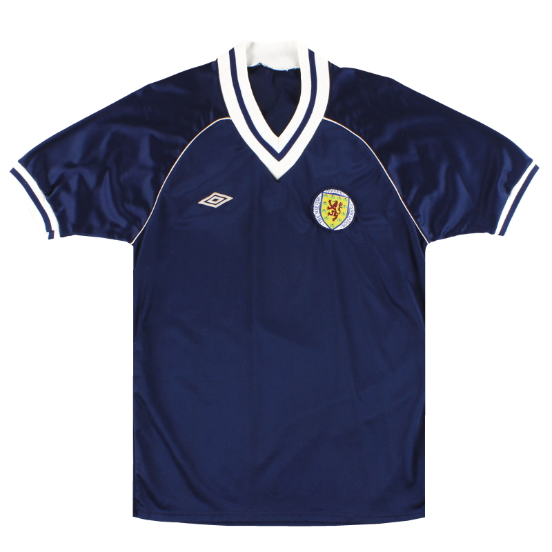 1982-85 Scotland Umbro Home Shirt S
