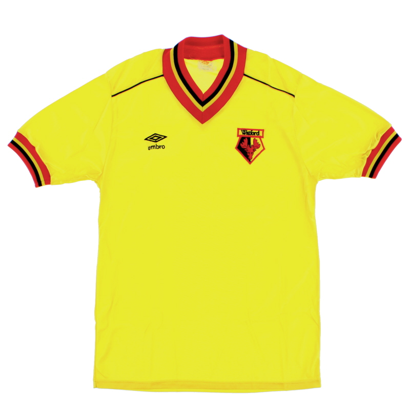 1982-85 Watford Home Shirt M
