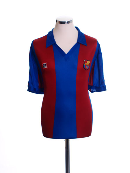 1982-89 Barcelona Home Shirt M
