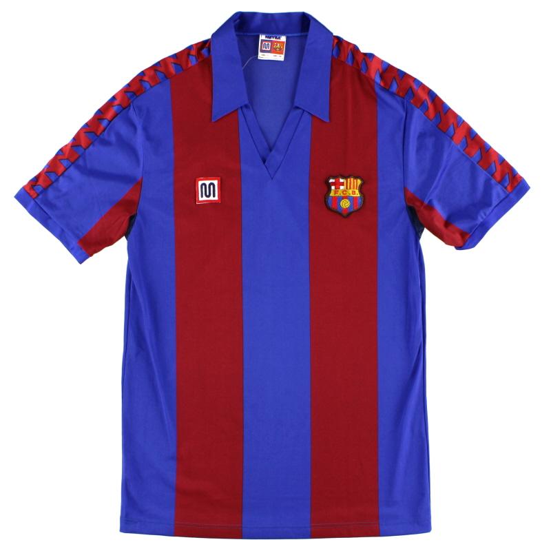 1982-89 Barcelona Home Shirt S