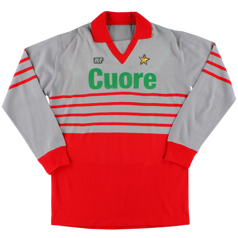 1983-84 AC Milan Match Issue Goalkeeper Shirt #12 L