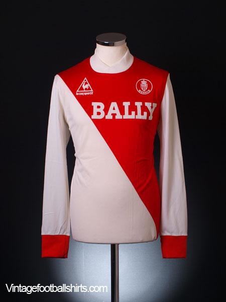 1983-84 Monaco Home Shirt L/S M