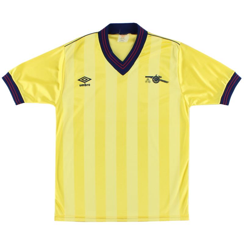 1983-85 Arsenal Away Shirt *Mint* L