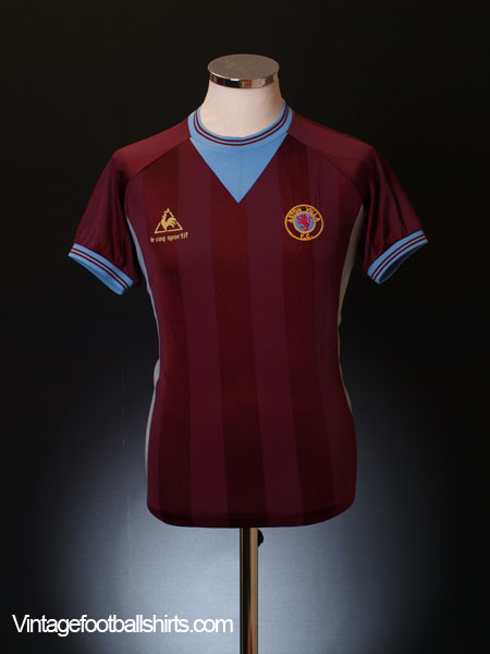 1983-85 Aston Villa Home Shirt Y