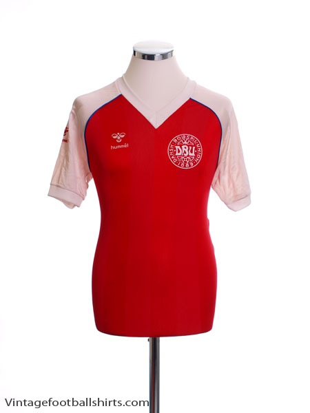 1984-86 Denmark Home Shirt M
