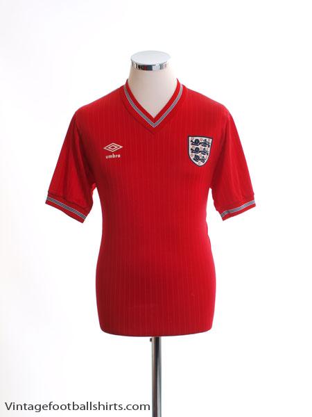 1984-87 England Away Shirt M