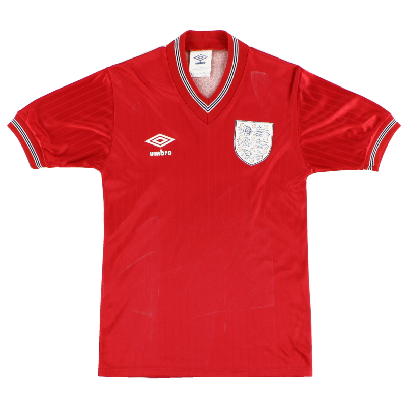 1984-87 England Away Shirt Y