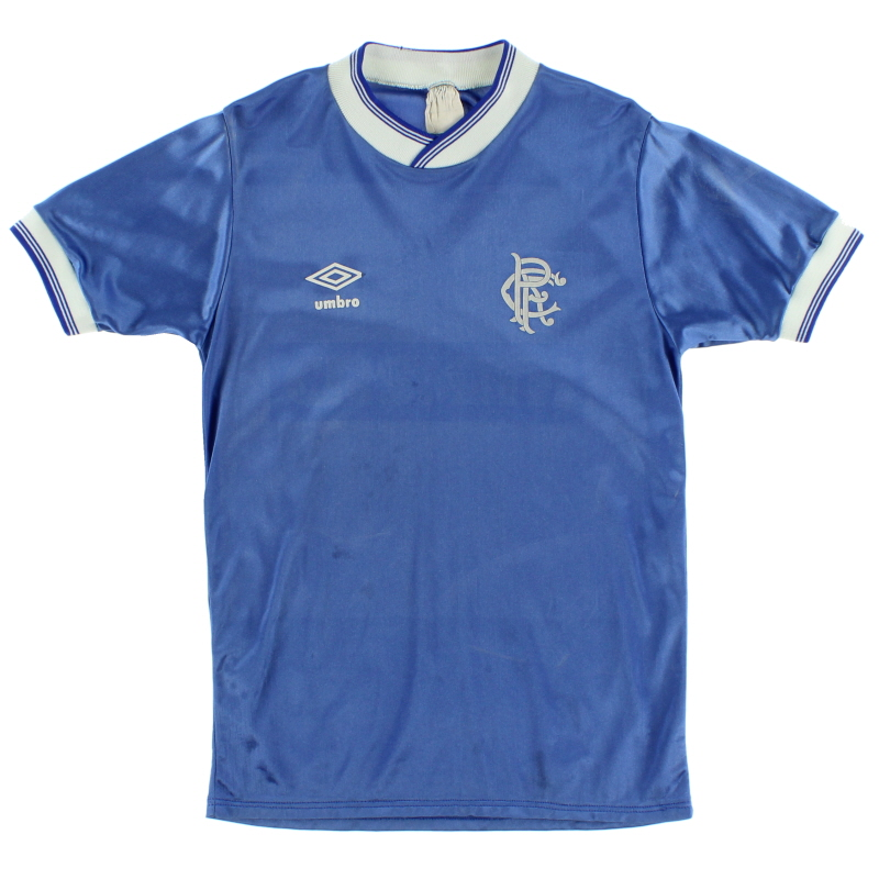 1984-87 Rangers Home Shirt S