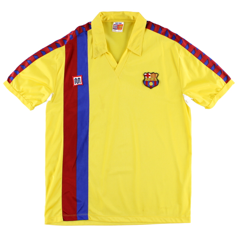 1984-89 Barcelona Meyba Away Shirt M - 58247