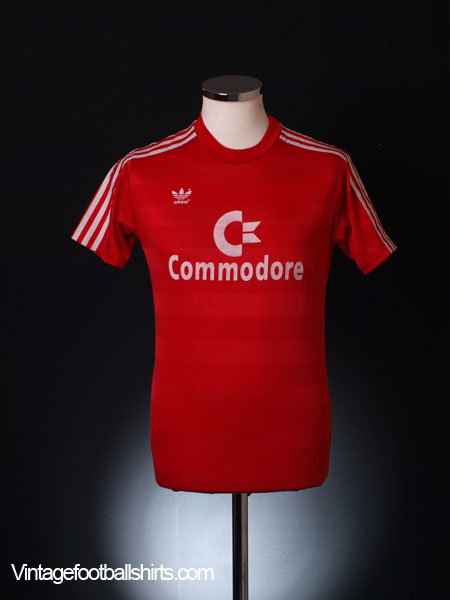 1984-89 Bayern Munich Home Shirt S