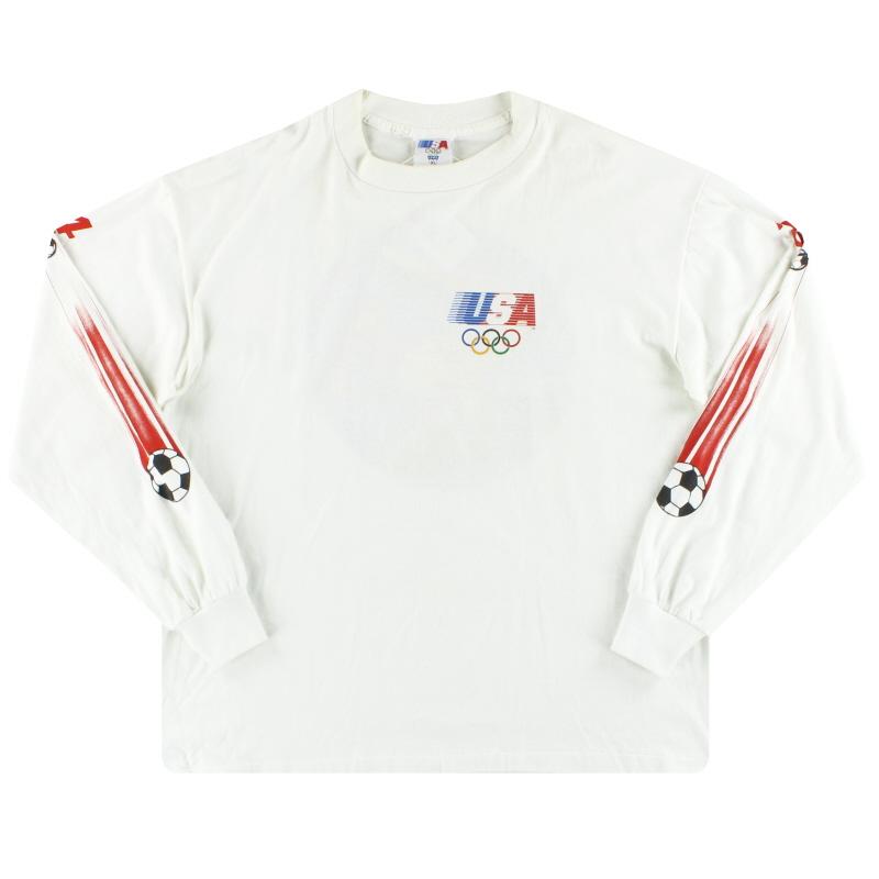 1984 Team USA Levis Olympic Shirt L/S XL