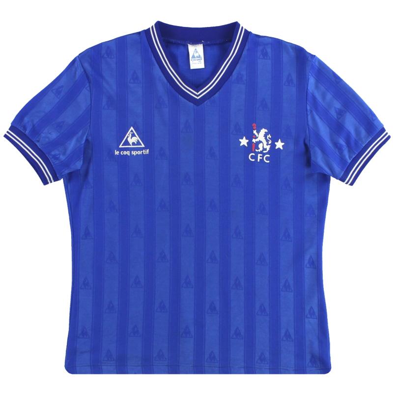 1985-86 Chelsea Le Coq Sportif Home Shirt Y