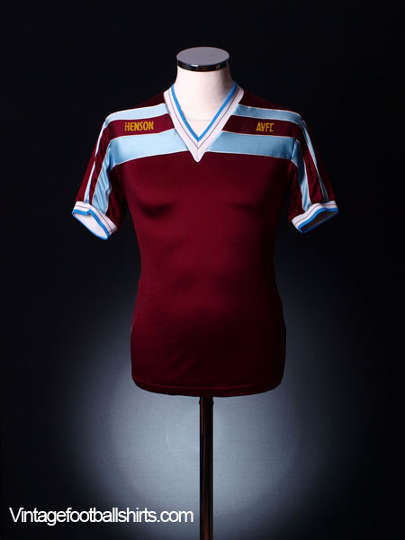 1985-87 Aston Villa Home Shirt S