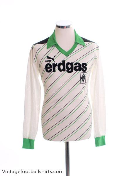 1985-87 Borussia Monchengladbach Home Shirt L/S M