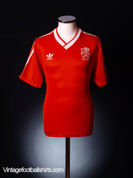 1985-88 Holland Home Shirt L