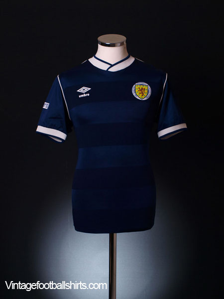 1985-88 Scotland Home Shirt M
